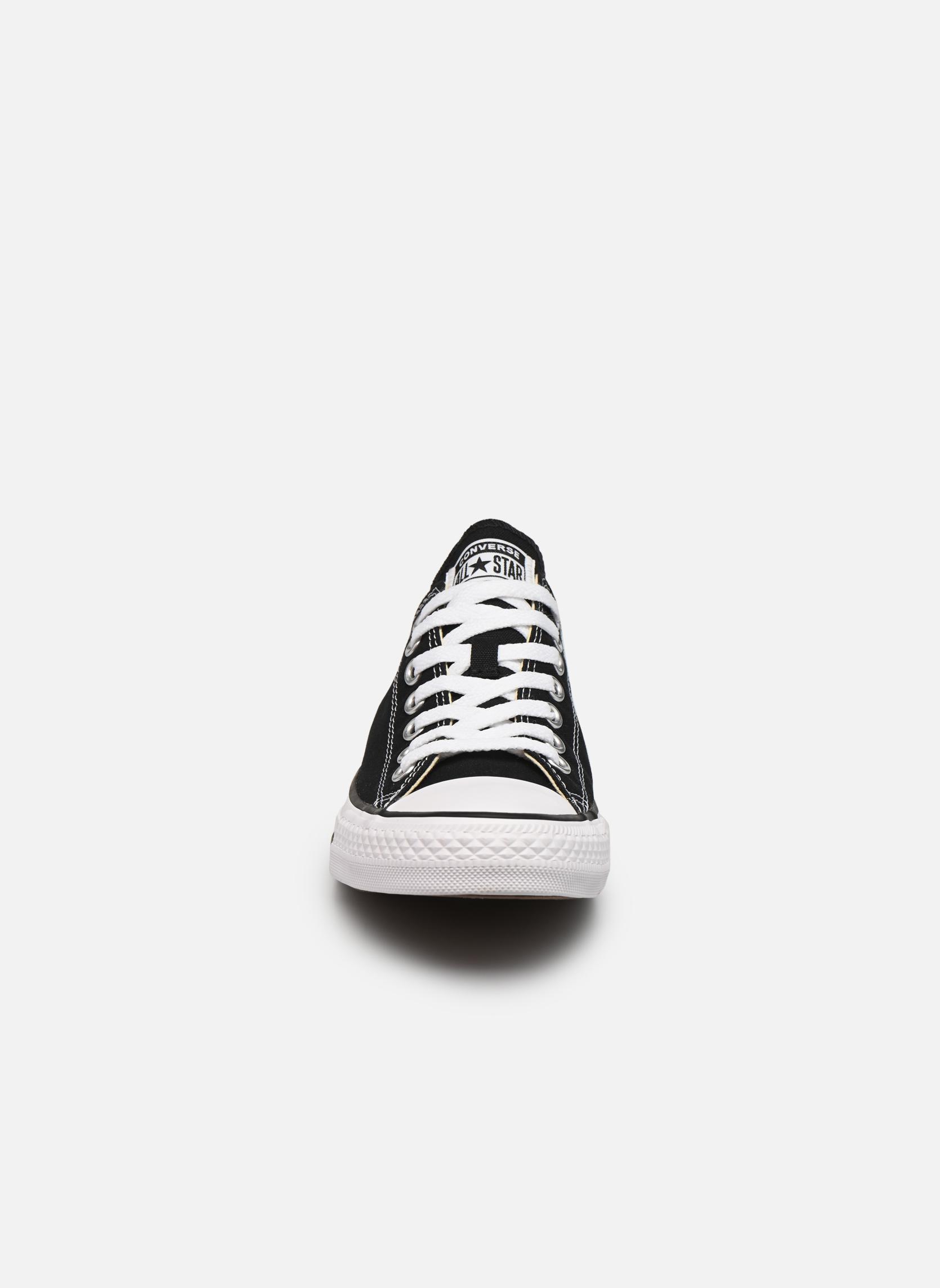 Sneaker Converse Chuck Taylor All Star Ox M schwarz schuhe getragen