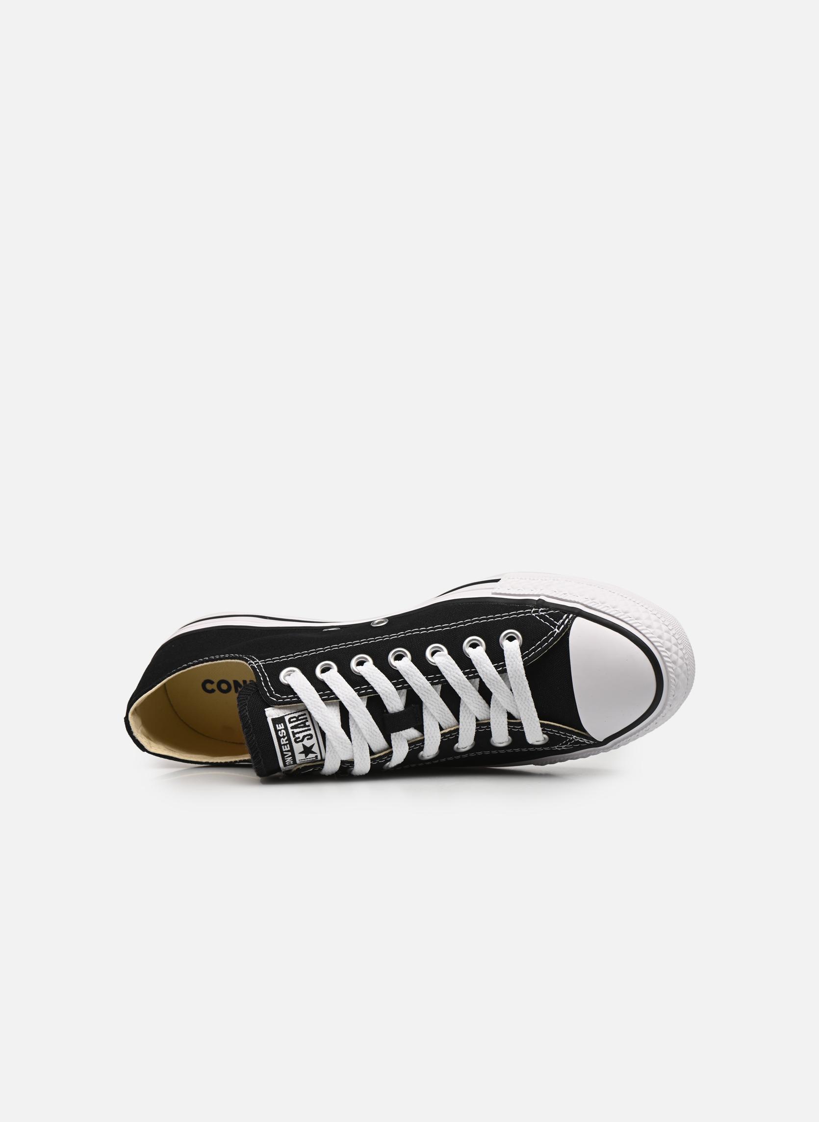 Sneaker Converse Chuck Taylor All Star Ox M schwarz ansicht von links