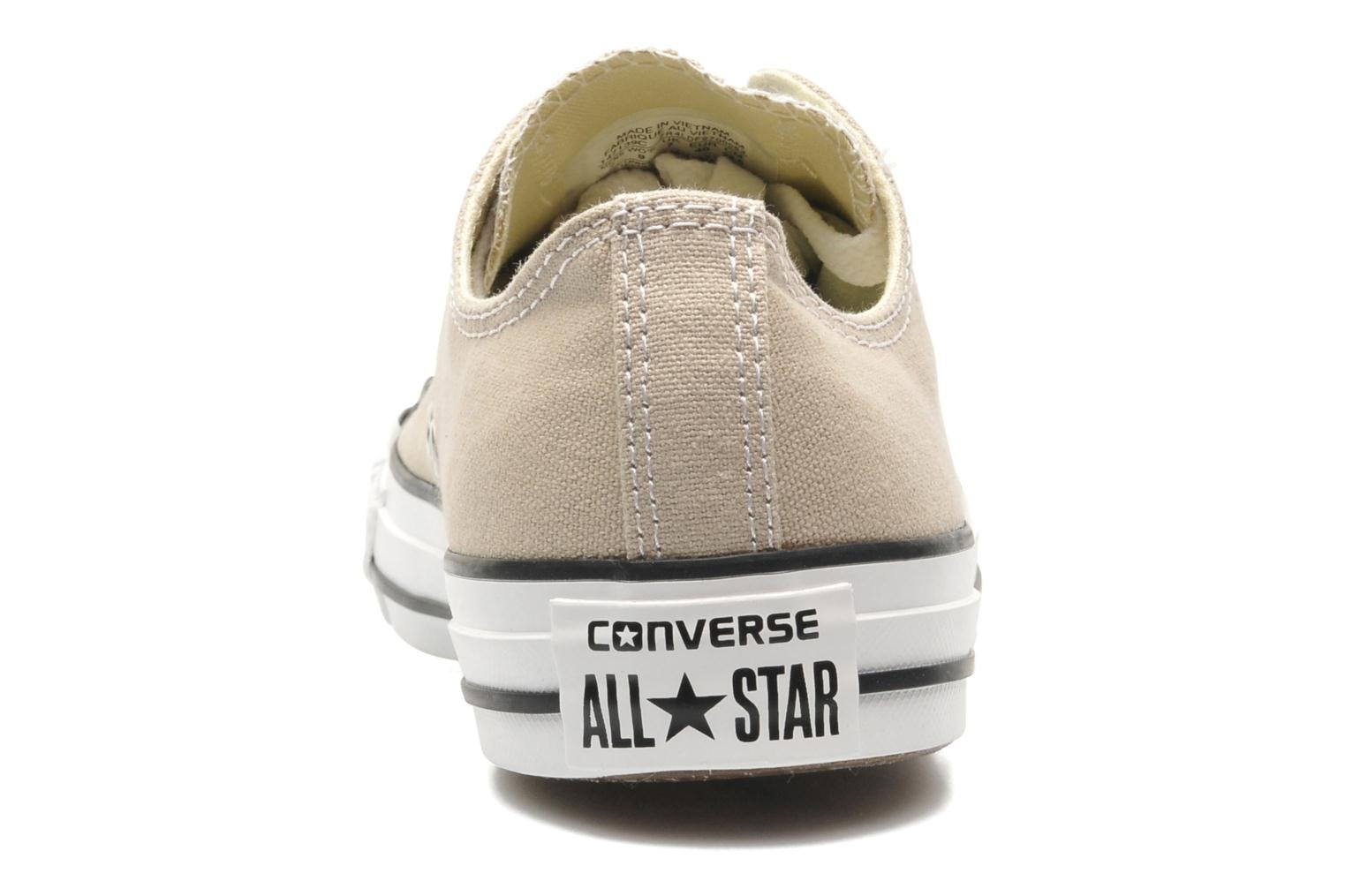 Sneakers Converse Chuck Taylor All Star Ox M Beige rechts