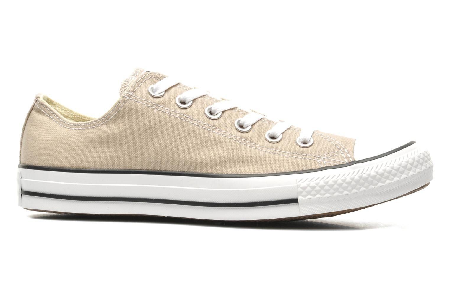 Sneakers Converse Chuck Taylor All Star Ox M Beige achterkant