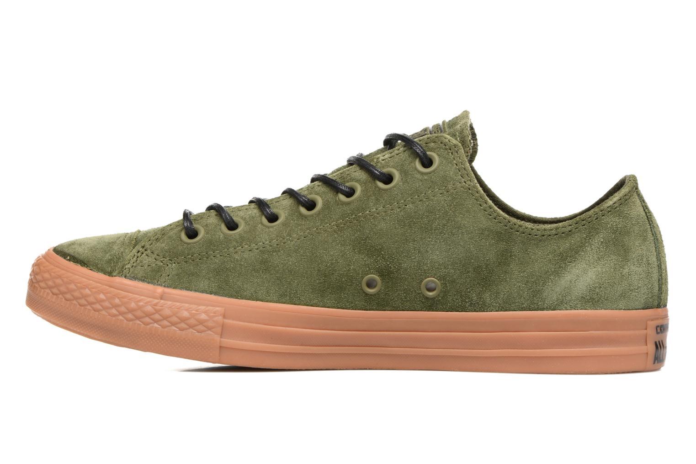 Sneaker Converse Chuck Taylor All Star Ox M grün ansicht von vorne