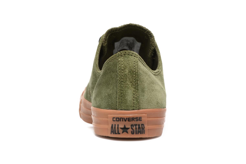 Sneaker Converse Chuck Taylor All Star Ox M grün ansicht von rechts