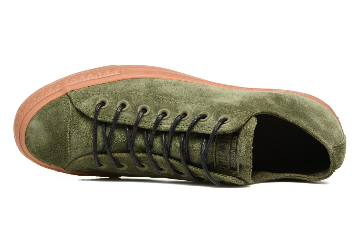 Sneakers Converse Chuck Taylor All Star Ox M Verde immagine sinistra