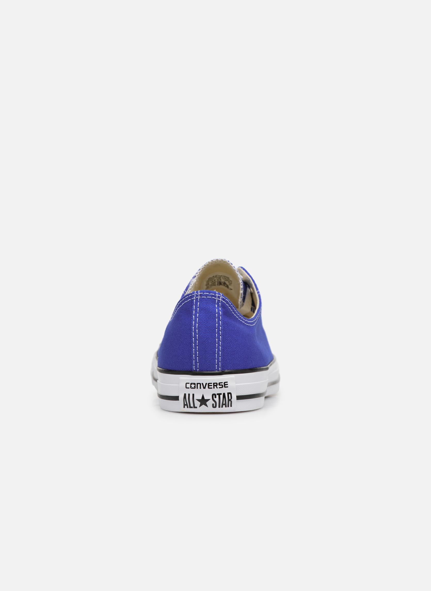 Sneaker Converse Chuck Taylor All Star Ox M blau ansicht von rechts