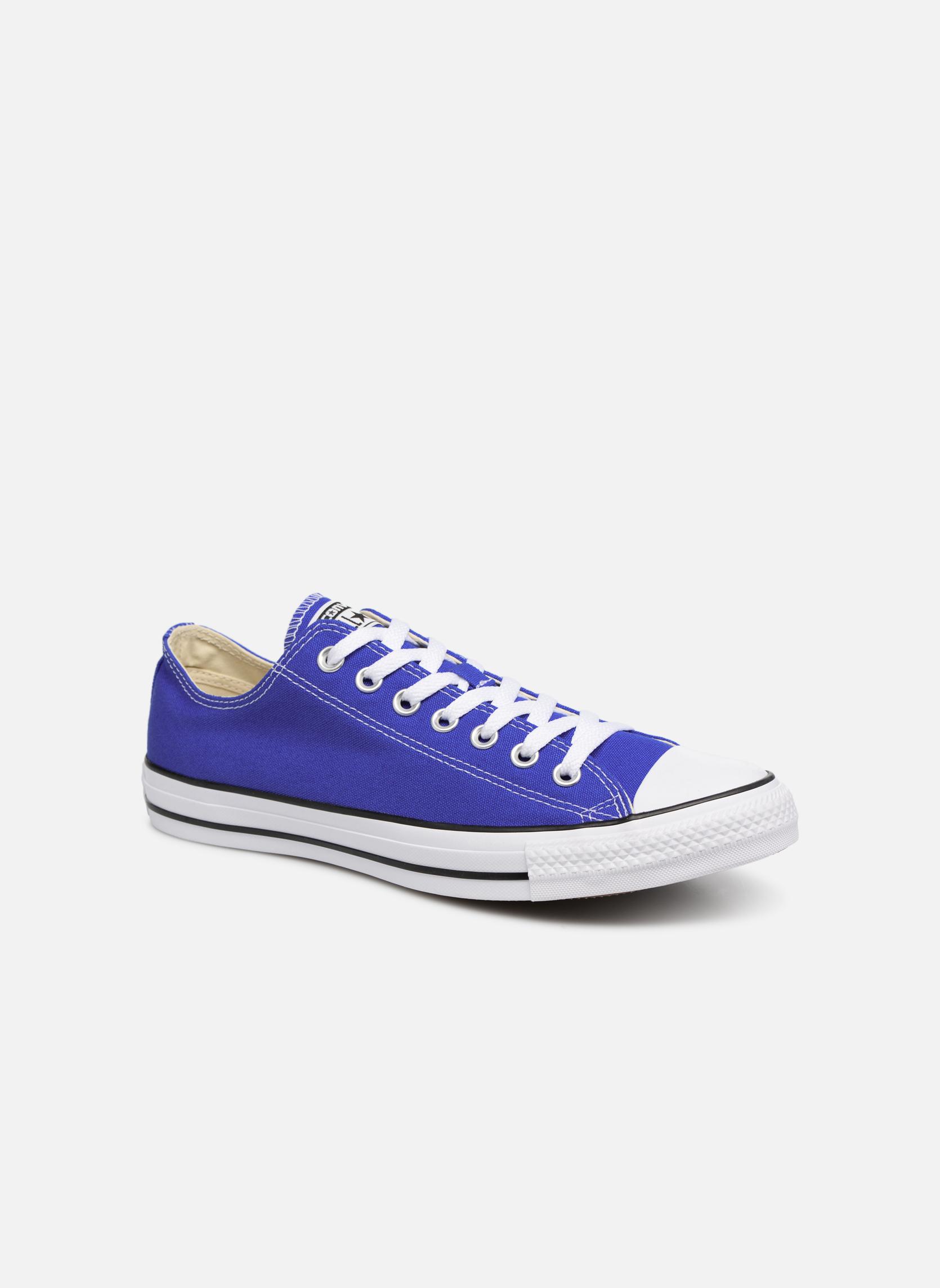 Converse Chuck Taylor All Star Ox M (Bleu) - Baskets chez Sarenza (324608)