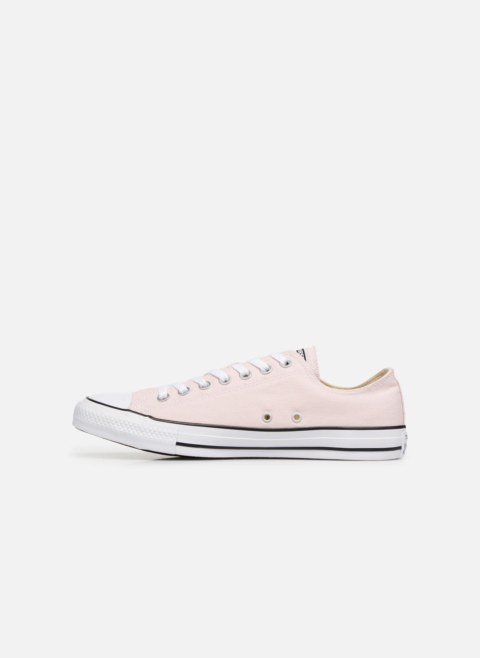 Sneaker Converse Chuck Taylor All Star Ox M rosa ansicht von vorne