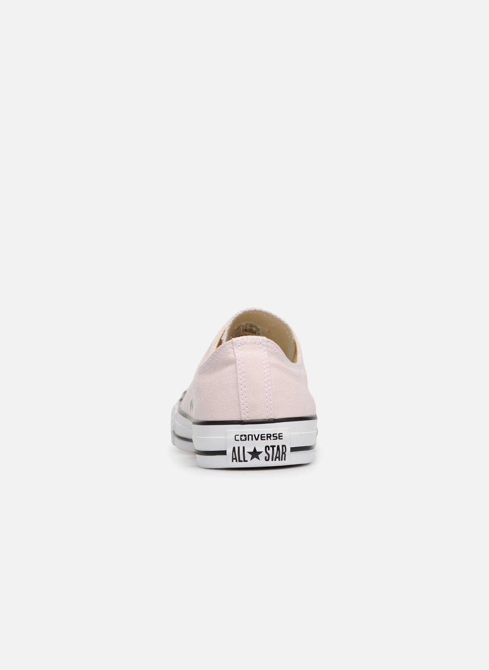 Sneaker Converse Chuck Taylor All Star Ox M rosa ansicht von rechts