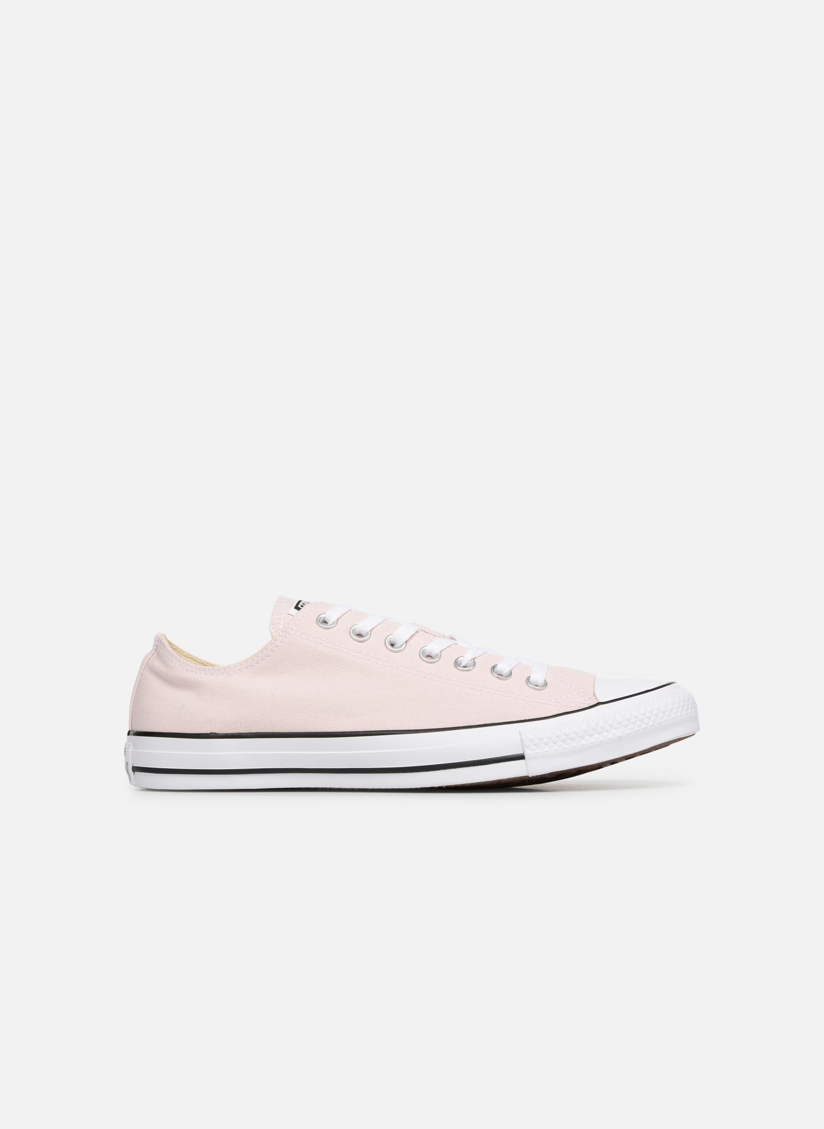 Sneaker Converse Chuck Taylor All Star Ox M rosa ansicht von hinten