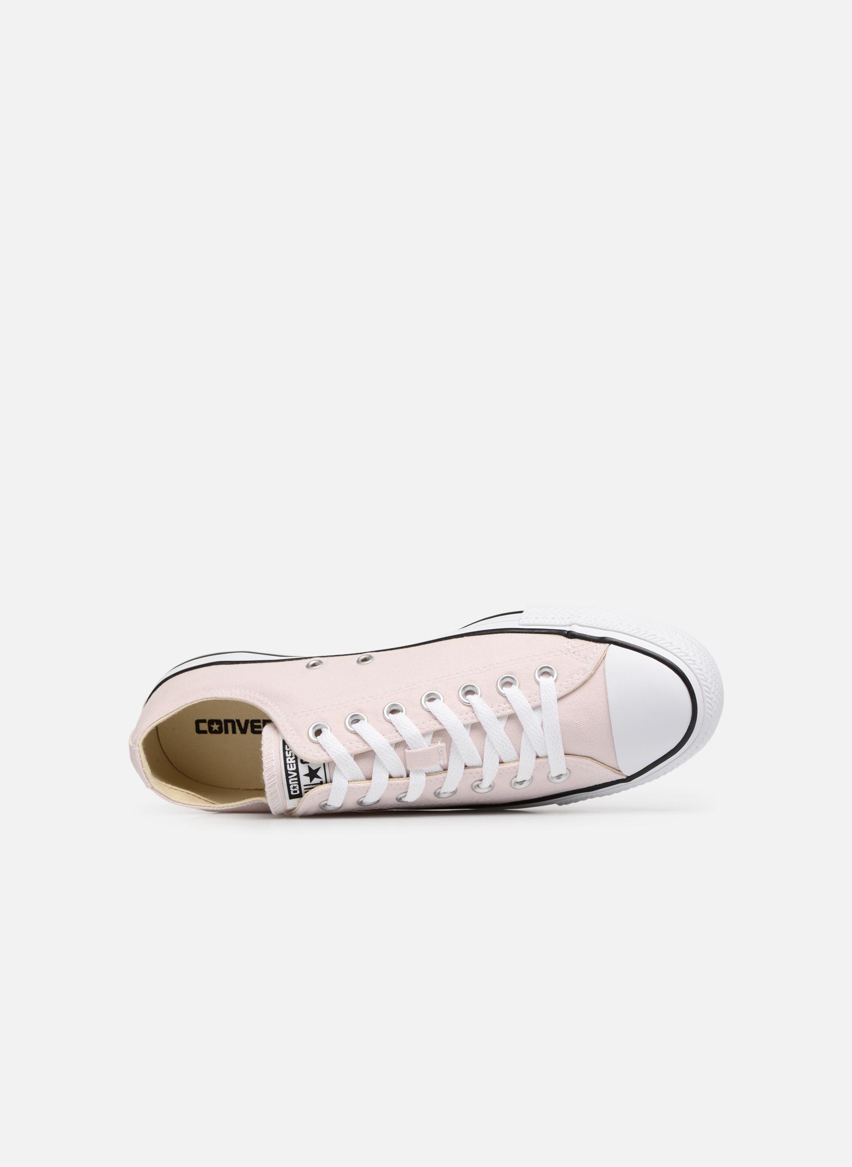 Sneaker Converse Chuck Taylor All Star Ox M rosa ansicht von links