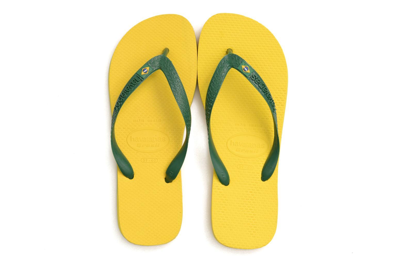 Zehensandalen Havaianas Brazil H gelb 3 von 4 ansichten