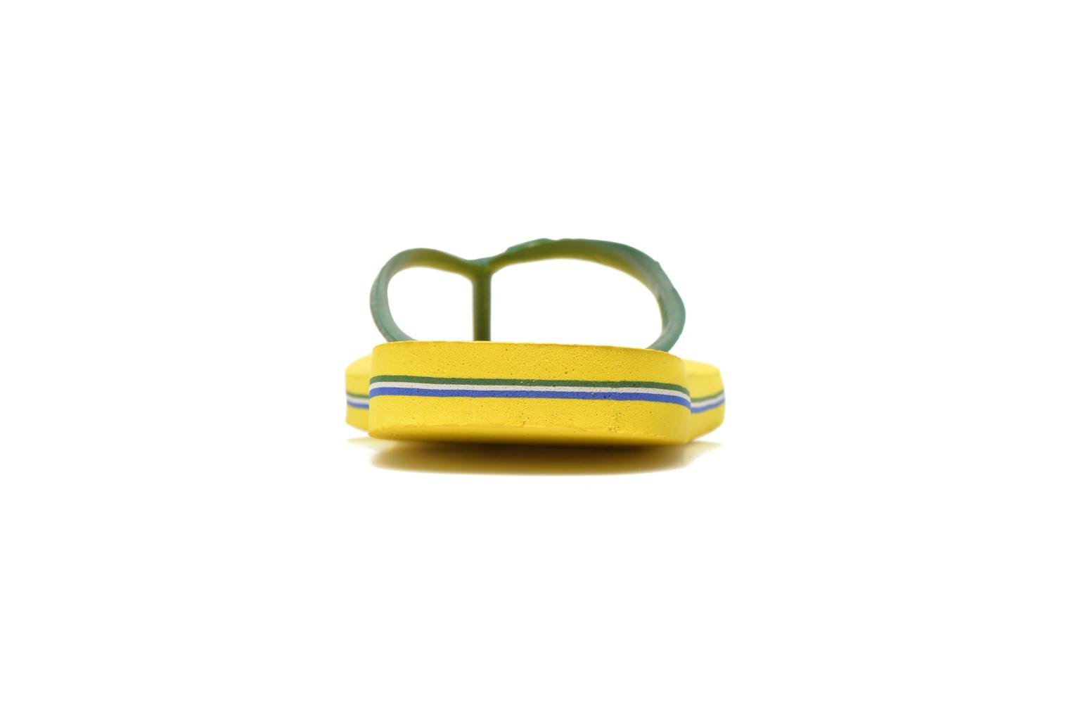 Flip flops Havaianas Brazil H Yellow view from the right