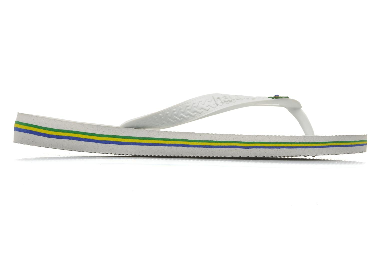Slippers Havaianas Brazil H Wit achterkant