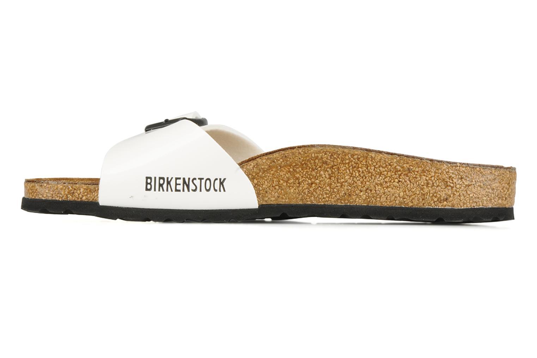 Mules et sabots Birkenstock Madrid Flor W Blanc vue face