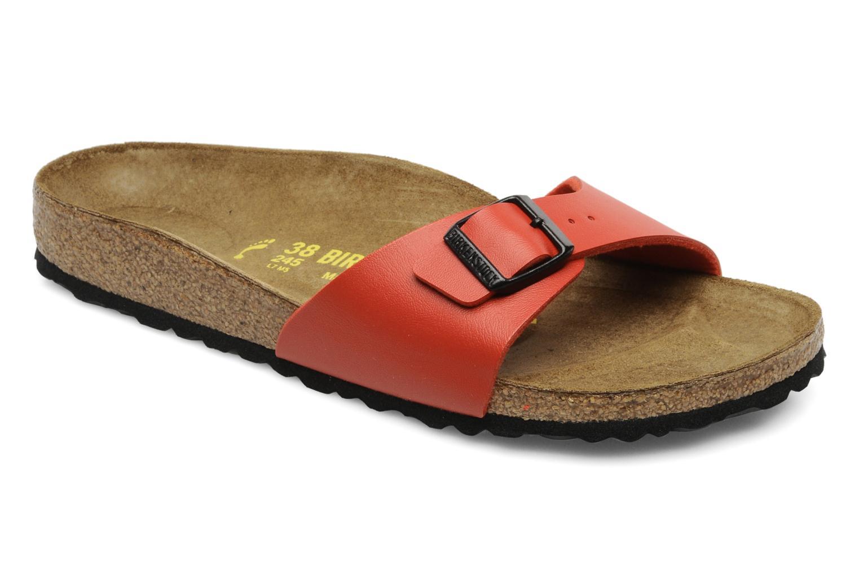 Zapatos especiales para hombres y mujeres (Rojo) Birkenstock Madrid Flor W (Rojo) mujeres - Zuecos en Más cómodo eb72ca