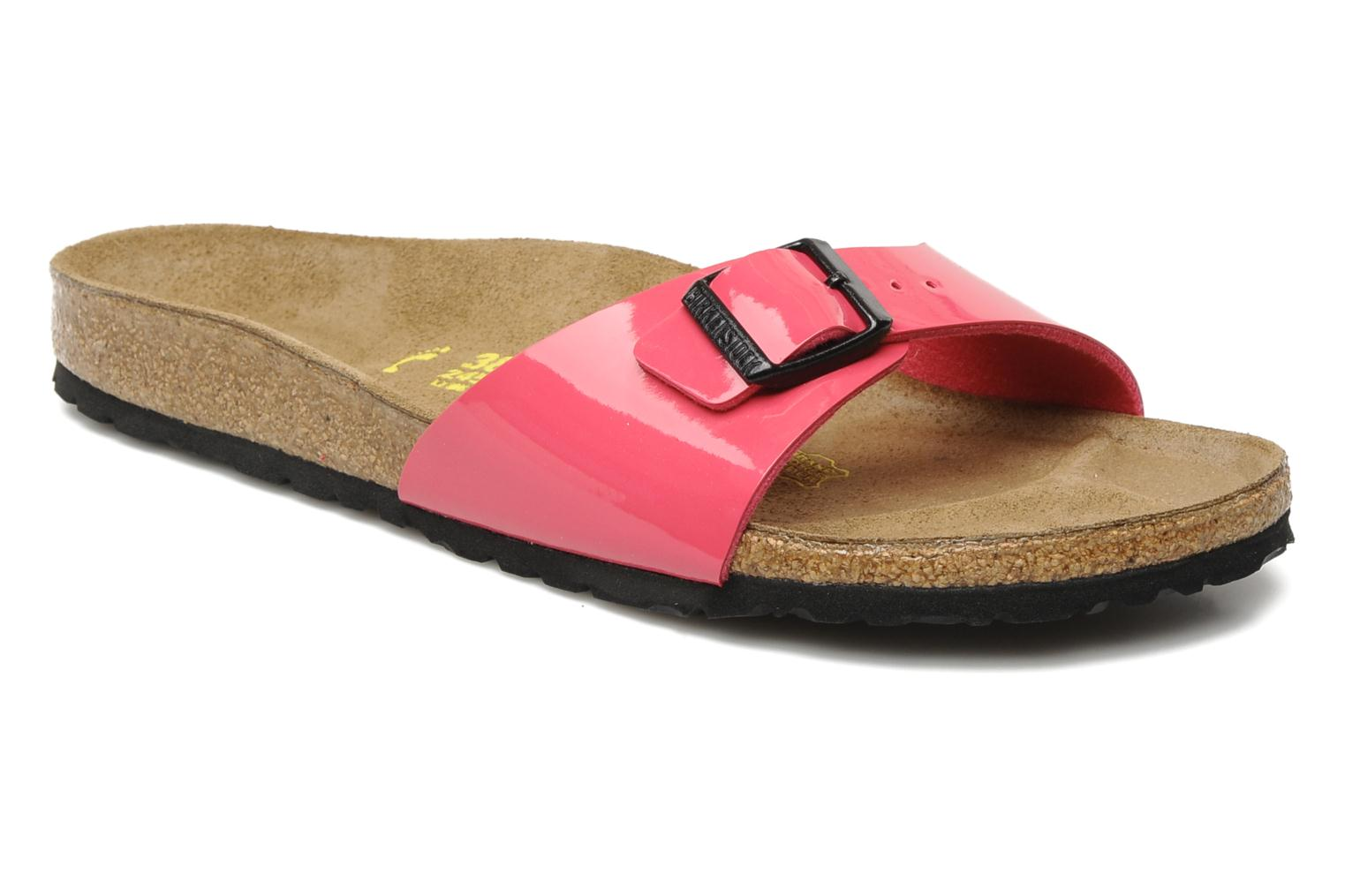 Mules & clogs Birkenstock Madrid Flor W Pink detailed view/ Pair view