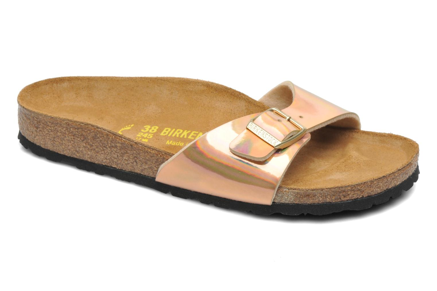 Wedges Birkenstock Madrid Flor W Roze detail