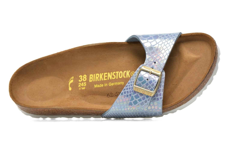 Clogs & Pantoletten Birkenstock Madrid Flor W blau ansicht von links