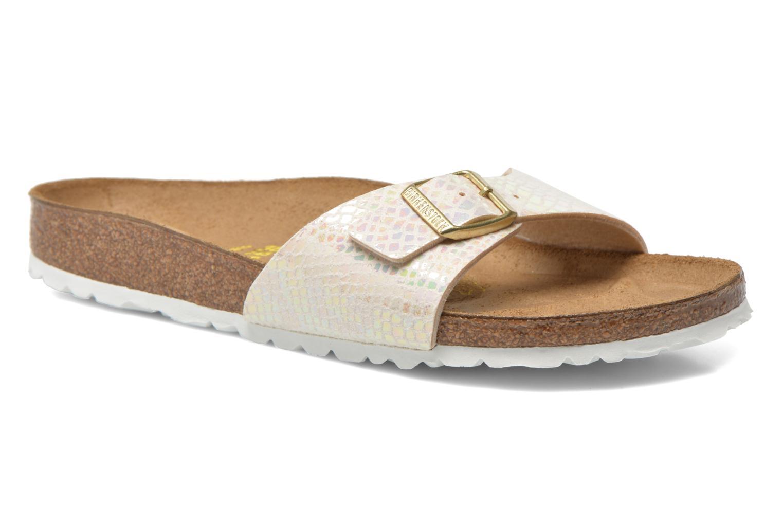 Grandes descuentos últimos zapatos Birkenstock Madrid Flor W (Multicolor) - Zuecos en Más cómodo