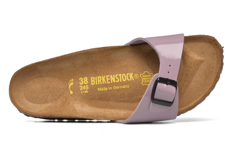 Mules et sabots Birkenstock Madrid Flor W Marron vue gauche