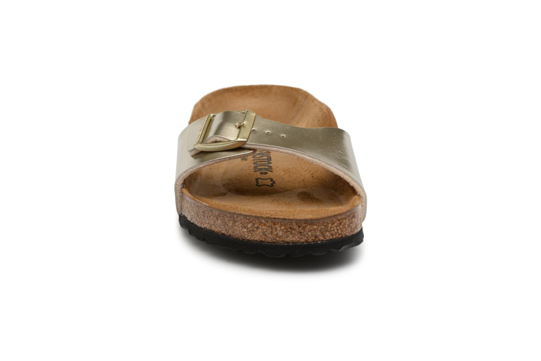 Clogs & Pantoletten Birkenstock Madrid Flor W gold/bronze schuhe getragen