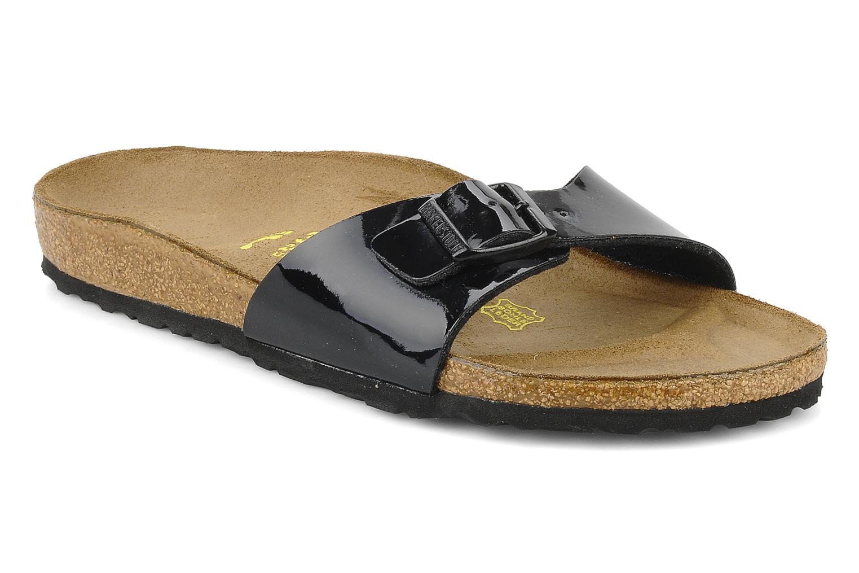 Zapatos promocionales Birkenstock Madrid Flor W (Negro) - Zuecos   Cómodo y bien parecido