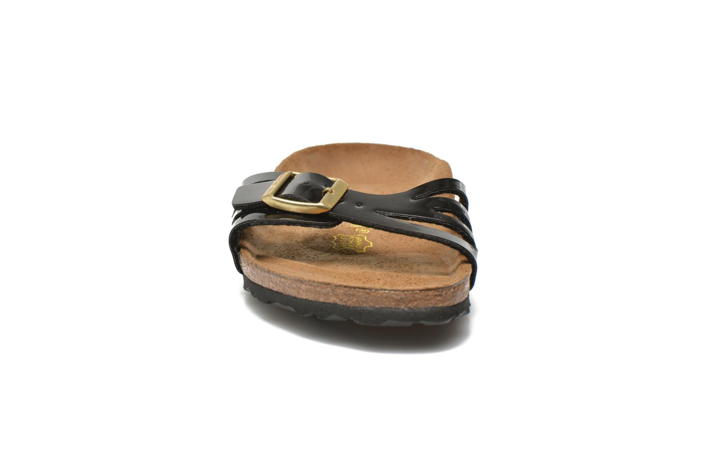 Mules et sabots Birkenstock Molina Flor W Noir vue portées chaussures
