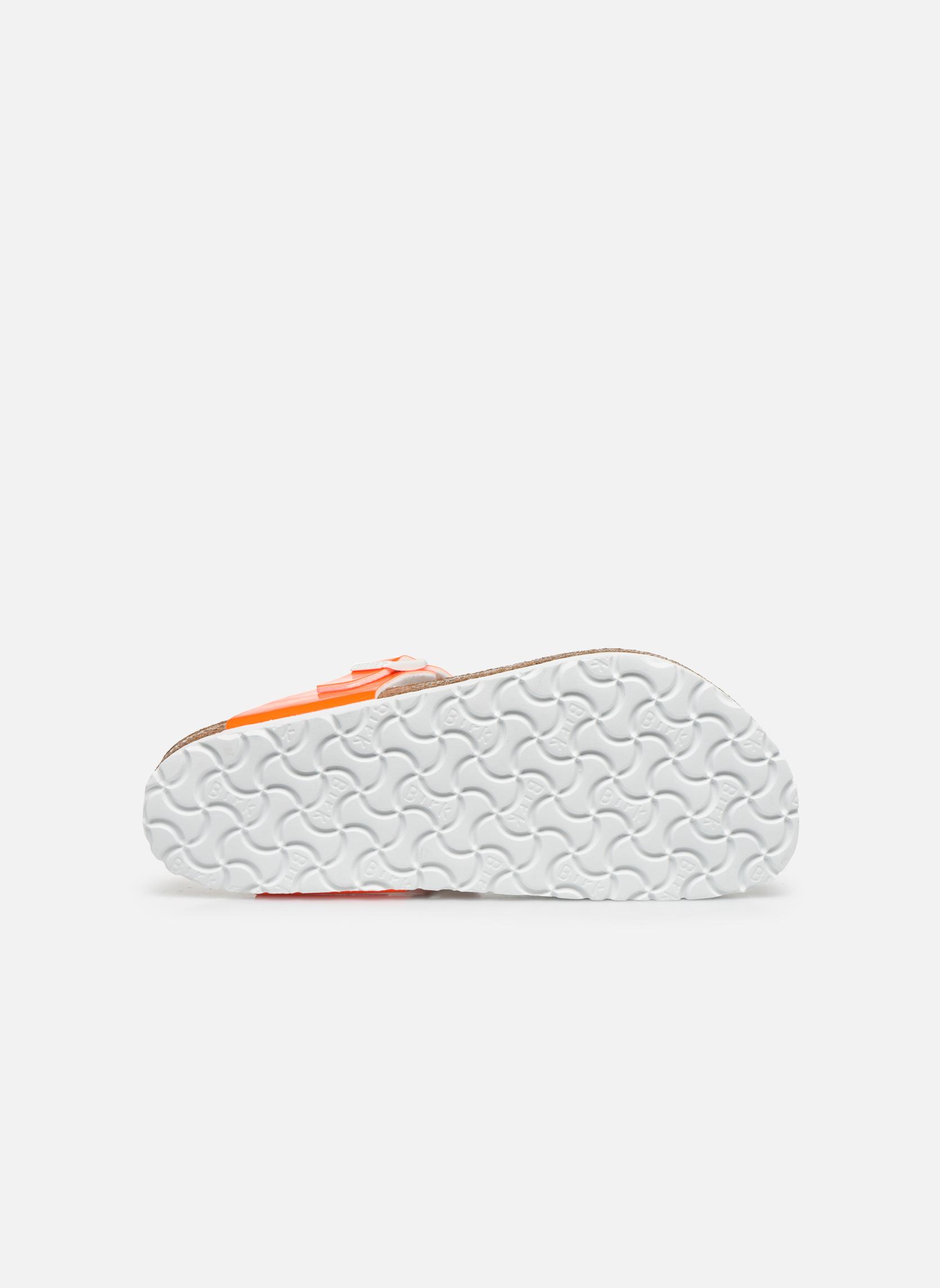 Sandali e scarpe aperte Birkenstock Gizeh Flor W Arancione immagine dall'alto