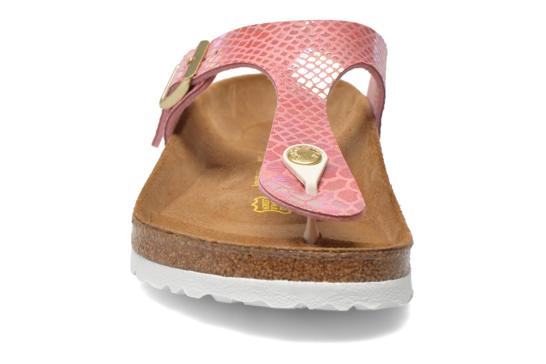 Sandals Birkenstock Gizeh Flor W Pink model view