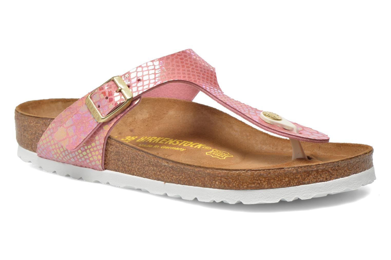 Sandaler Birkenstock Gizeh Flor W Pink detaljeret billede af skoene