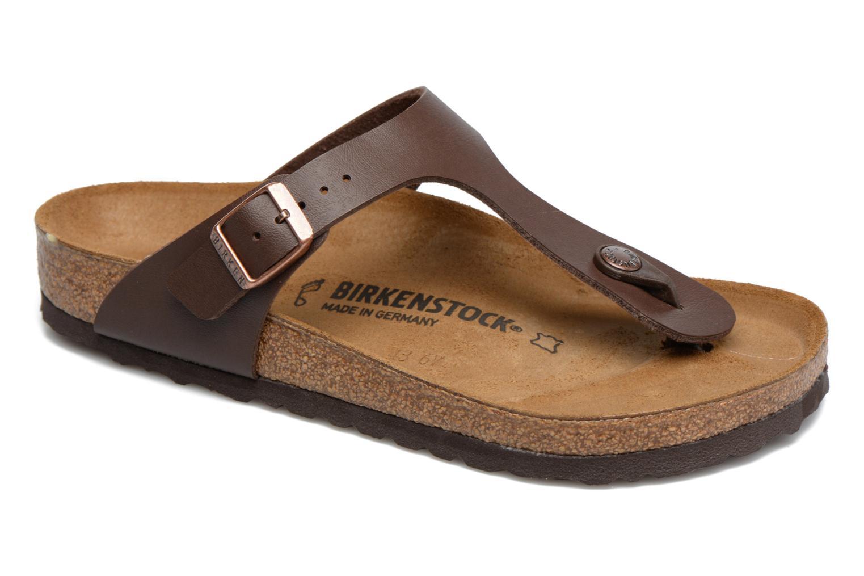 Birkenstock Gizeh Flor W (Marron) - Sandales et nu-pieds chez Sarenza (297597)