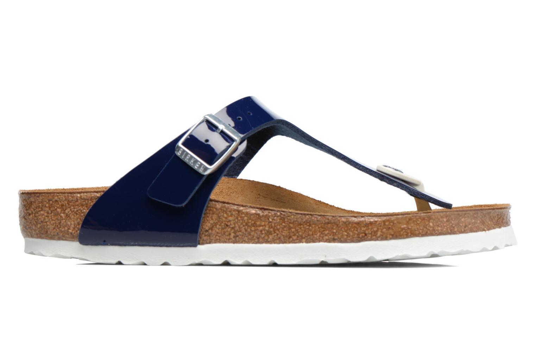 Sandali e scarpe aperte Birkenstock Gizeh Flor W Azzurro immagine posteriore