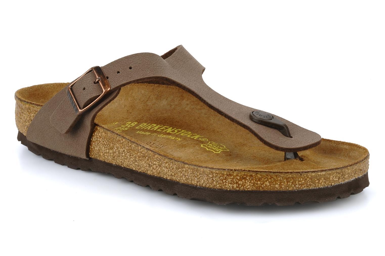 Descuento - por tiempo limitado Birkenstock Gizeh Flor W (Marrón) - Descuento Sandalias en Más cómodo af11e3