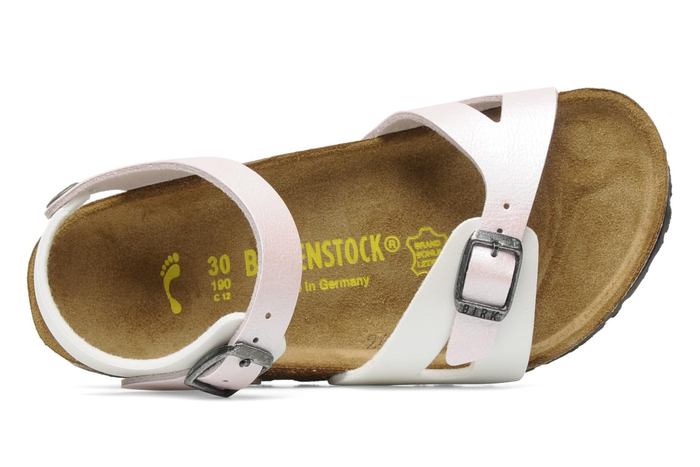 Sandalen Birkenstock Rio Flor E Wit links