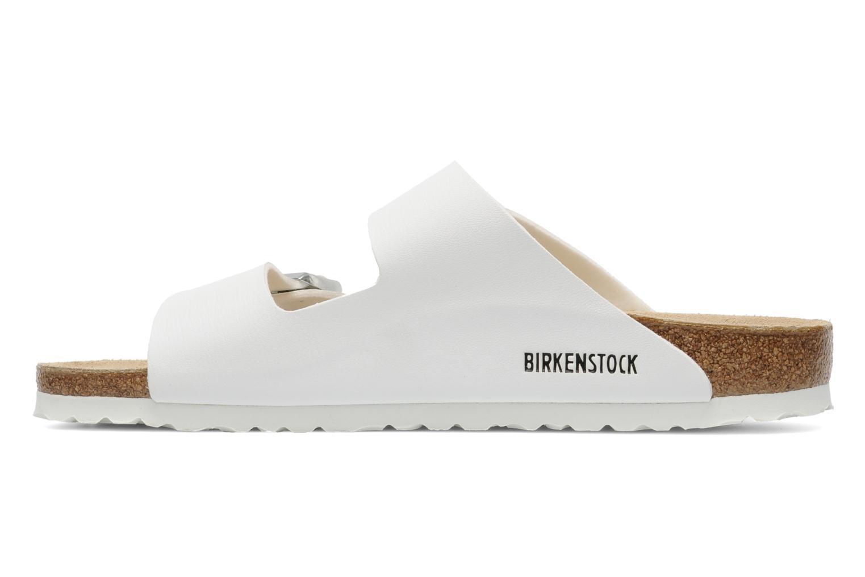 Sandali e scarpe aperte Birkenstock Arizona Flor M Bianco immagine frontale