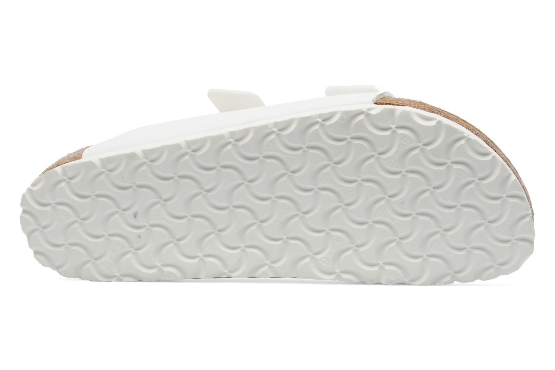 Sandali e scarpe aperte Birkenstock Arizona Flor M Bianco immagine dall'alto