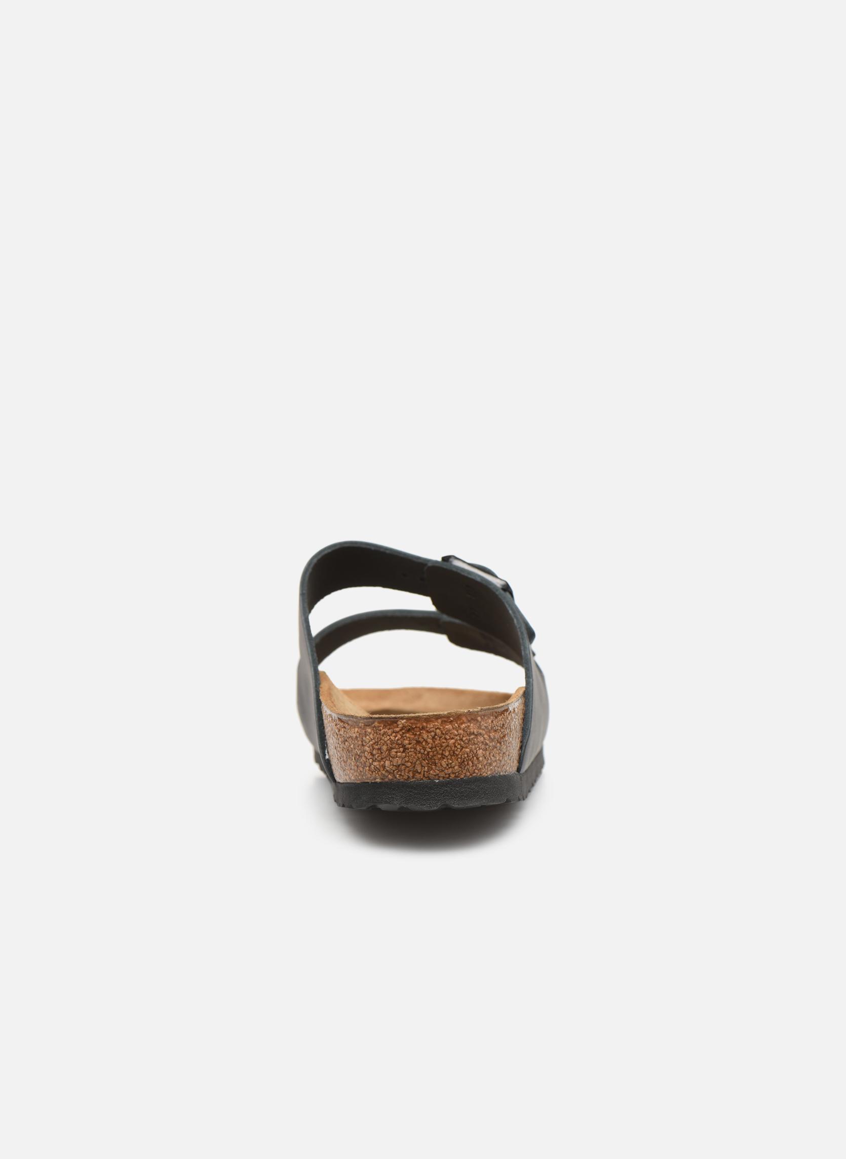 Sandalen Birkenstock Arizona Cuir M schwarz ansicht von rechts