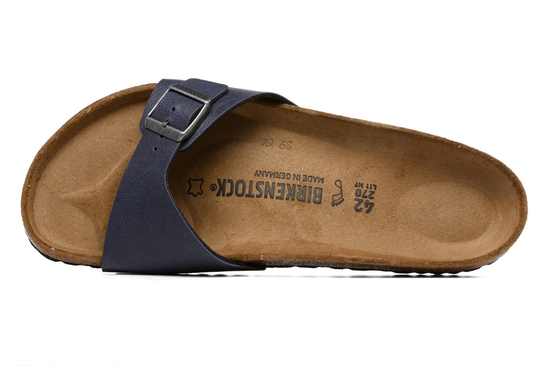 Sandali e scarpe aperte Birkenstock Madrid Flor M Azzurro immagine sinistra