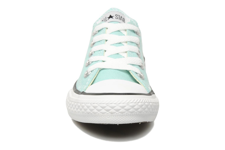 Sneaker Converse Chuck Taylor All Star Ox K blau schuhe getragen