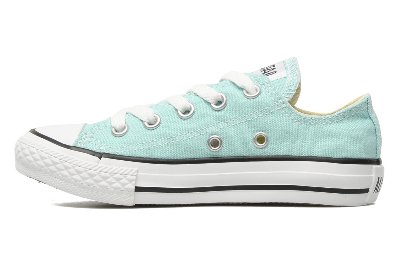 Sneaker Converse Chuck Taylor All Star Ox K blau ansicht von vorne