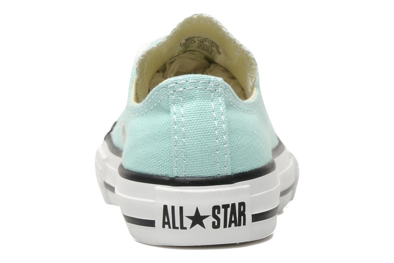 Baskets Converse Chuck Taylor All Star Ox K Bleu vue droite