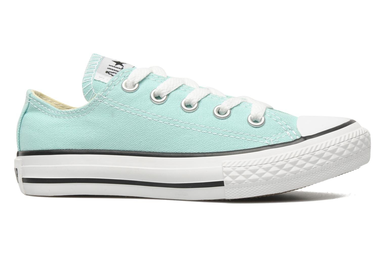 Sneaker Converse Chuck Taylor All Star Ox K blau ansicht von hinten