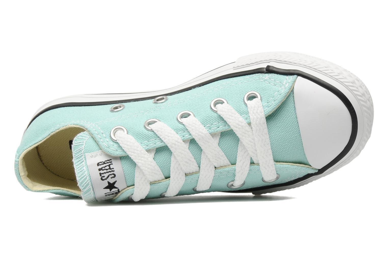 Sneaker Converse Chuck Taylor All Star Ox K blau ansicht von links