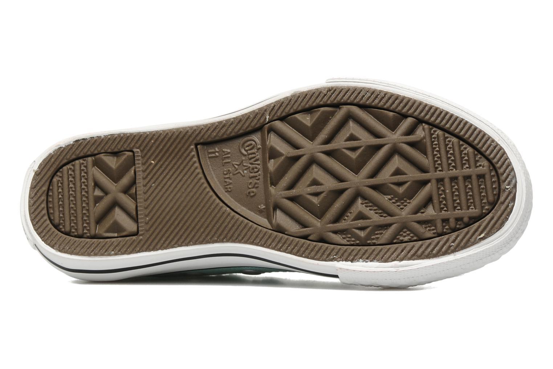 Sneaker Converse Chuck Taylor All Star Ox K blau ansicht von oben