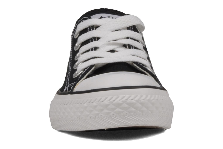 Sneaker Converse Chuck Taylor All Star Ox K schwarz schuhe getragen