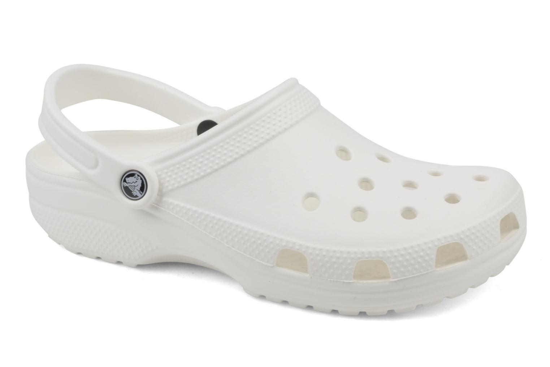 Zuecos Crocs Cayman F Blanco vista de detalle / par