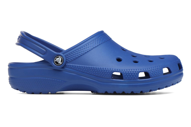 Mules et sabots Crocs Classic F Bleu vue derrière