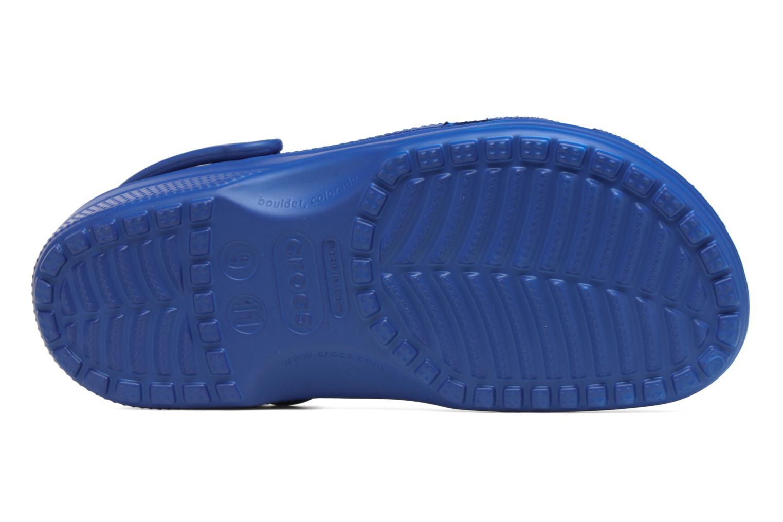 Mules et sabots Crocs Classic F Bleu vue haut