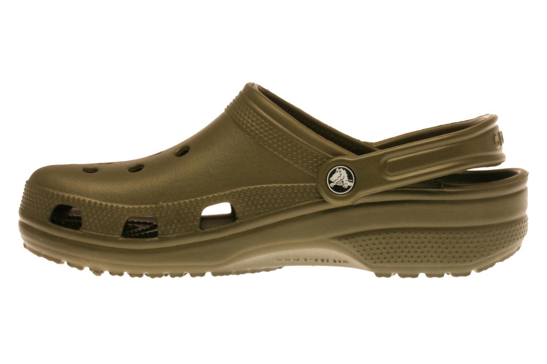 Sandaler Crocs Classic H Grön bild från framsidan