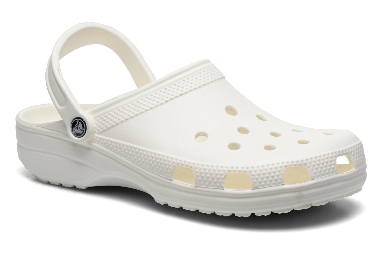 Sandales et nu-pieds Crocs Classic H Blanc vue détail/paire