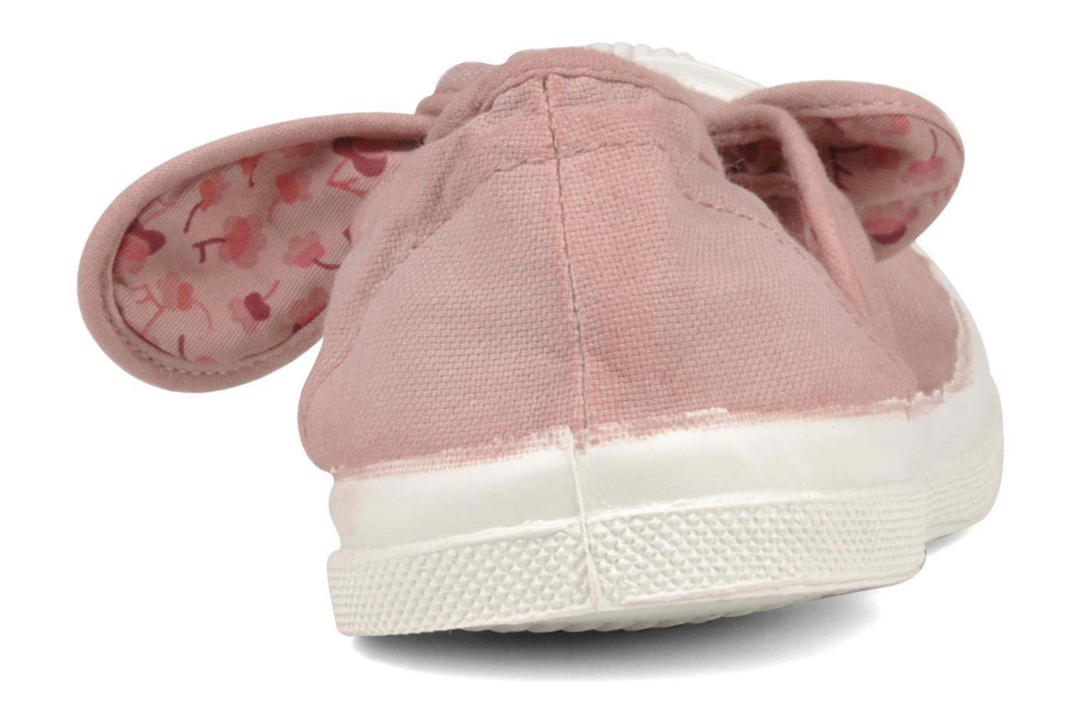 Ballet pumps Bensimon Ballerine Flo E Pink view from the right